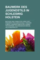 Bauwerk Des Jugendstils in Schleswig-Holstein