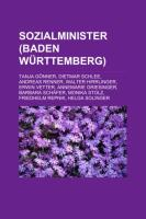 Sozialminister (Baden-Württemberg)