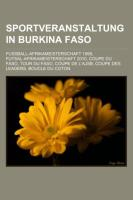 Sportveranstaltung in Burkina Faso