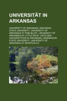 Universität in Arkansas