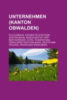 Unternehmen (Kanton Obwalden)