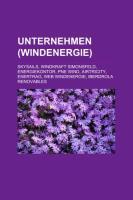 Unternehmen (Windenergie): Skysails, Windkraft Simonsfeld, Energiekontor, Pne Wind, Airtricity, Enertrag, Web Windenergie, Iberdrola Renovables