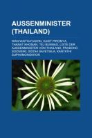 Außenminister (Thailand)