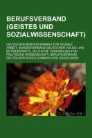 Berufsverband (Geistes- Und Sozialwissenschaft)