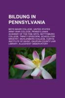 Bildung in Pennsylvania