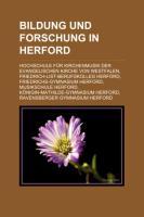 Bildung Und Forschung in Herford