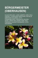 Bürgermeister (Oberhausen)