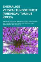 Ehemalige Verwaltungseinheit (Rheingau-Taunus-Kreis)
