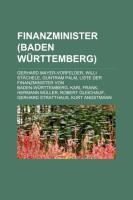 Finanzminister (Baden-Württemberg)