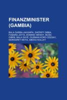 Finanzminister (Gambia)