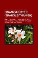 Finanzminister (Transleithanien)