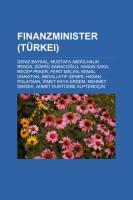Finanzminister (Türkei)