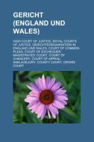 Gericht (England Und Wales)