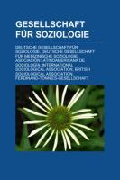 Gesellschaft Für Soziologie