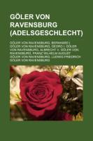 Göler Von Ravensburg (Adelsgeschlecht)