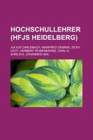 Hochschullehrer (Hfjs Heidelberg)