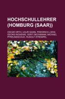 Hochschullehrer (Homburg (Saar))