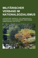 Militärischer Verband Im Nationalsozialismus