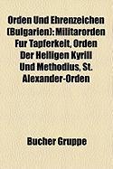 Orden Und Ehrenzeichen (Bulgarien)