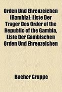 Orden Und Ehrenzeichen (Gambia)