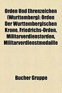 Orden Und Ehrenzeichen (Württemberg)