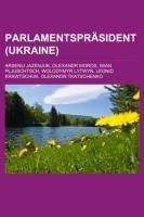 Parlamentspräsident (Ukraine)