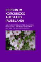 Person Im Kosciuszko-Aufstand (Russland)