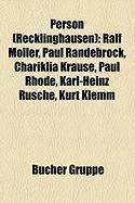 Person (Recklinghausen)