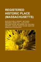 Registered Historic Place (Massachusetts)