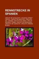 Rennstrecke in Spanien