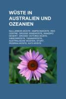 Wüste in Australien Und Ozeanien