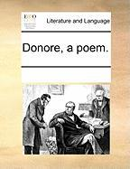 Donore, a Poem. - Multiple Contributors, See Notes