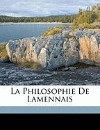 La Philosophie de Lamennais