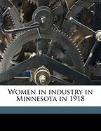 Women in Industry in Minnesota in 1918