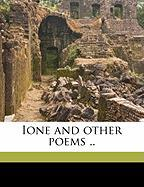 Ione and Other Poems .. - Lemon, Don Mark
