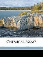 Chemical Essays - Watson, Richard
