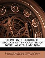 The Paleozoic Group. the Geology of Ten Counties of Northwestern Georgia - Spencer, Joseph William Winthrop; White, Henry Clay