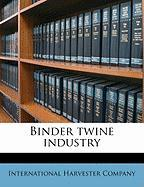 Binder Twine Industry