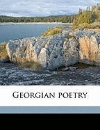 Georgian Poetry - Marsh, Edward Howard