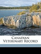 Canadian Veterinary Record - Anonymous