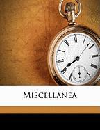 Miscellanea - Ewing, Juliana Horatia Gatty