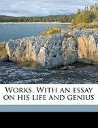 Works. with an Essay on His Life and Genius - Fielding, Henry; Murphy, Arthur; Chalmers, Alexander