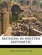 Methods in Written Arithmetic - Cook, John Williston