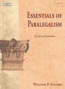 Essentials of Paralegalism - Statsky, William P.