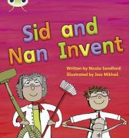 Phonics Bug Sid & Nan Invent Phase 3 - Sandford, Nicola
