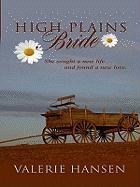 High Plains Bride - Hansen, Valerie