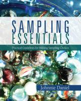 Sampling Essentials: Practical Guidelines for Making Sampling Choices - Daniel, Johnnie