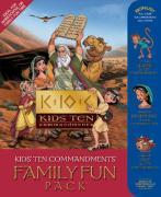 The Kids' Ten Commandments Family Fun Pack