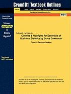 Essentials of Business Statistics by Bruce Bowerman, ISBN: 9780077323134 - Cram101 Textbook Reviews; Cram101 Textbook Reviews