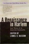 A Renaissance in Harlem - Bascom, Lionel